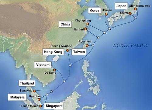 Việt Nam có thêm tuyến cáp APG, vơi nỗi lo đứt cáp AAG - 1