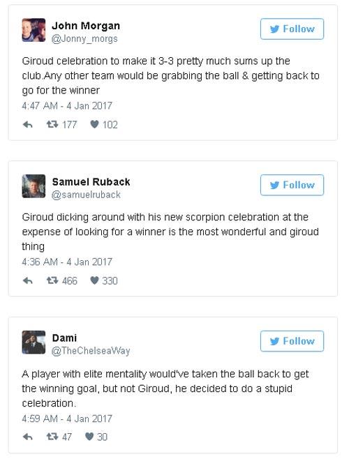 """Arsenal: Người hùng Giroud bị """"chửi"""", Wenger phàn nàn - 2"""