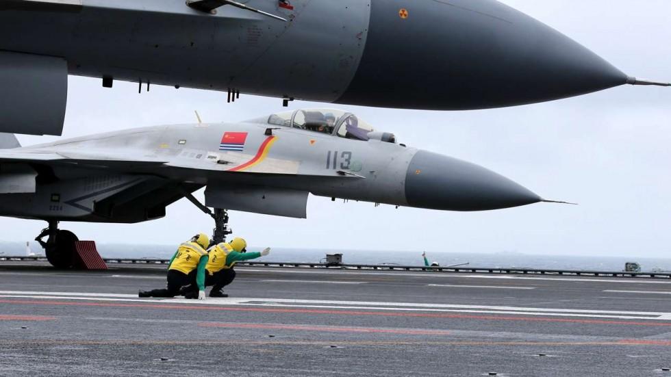 """""""Cá mập bay"""" Trung Quốc lần đầu tập trận ở Biển Đông - 1"""
