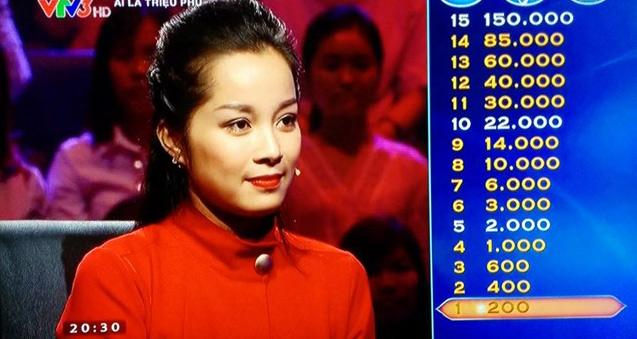 """""""Vàng Anh"""" Minh Hương thành tâm điểm Ai là triệu phú - 2"""