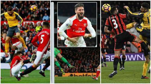 Giroud: Phiên bản siêu anh hùng Ramos ở Arsenal - 1