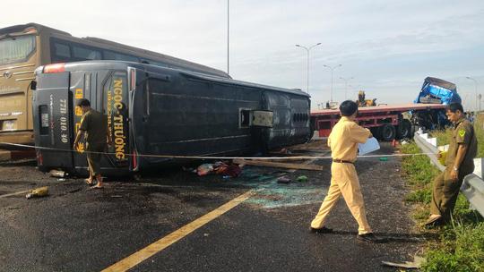 Hình ảnh thảm khốc trên cao tốc TPHCM - Long Thành - Dầu Giây - 4