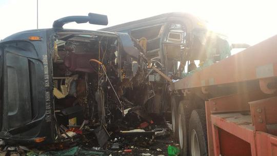 Hình ảnh thảm khốc trên cao tốc TPHCM - Long Thành - Dầu Giây - 7