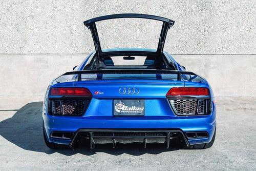 Ngắm Audi R8 V10 đầu tiên đạt sức mạnh 1.250 mã lực - 4