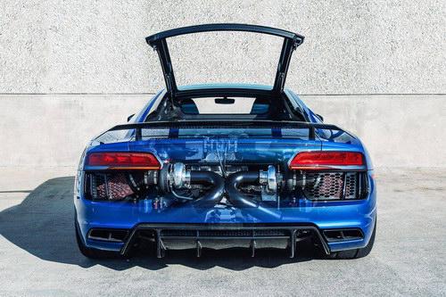 Ngắm Audi R8 V10 đầu tiên đạt sức mạnh 1.250 mã lực - 5