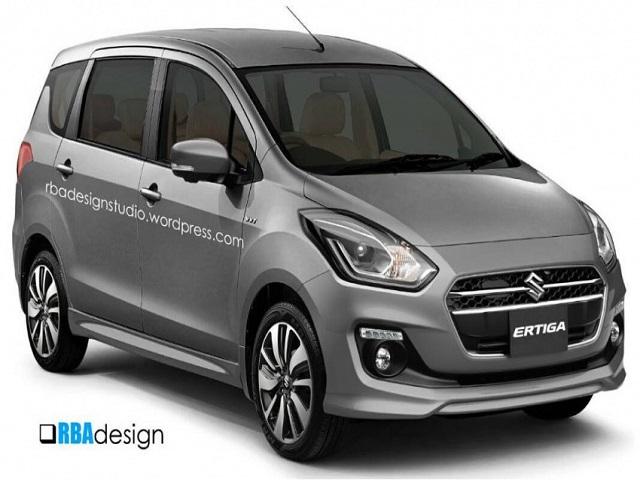 Lộ diện Suzuki Ertiga mới theo phong cách Swift - 1
