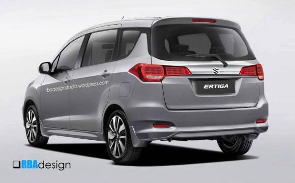 Lộ diện Suzuki Ertiga mới theo phong cách Swift - 2