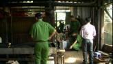 Xâm nhập cơ sở chế cà phê từ đậu nành, hóa chất
