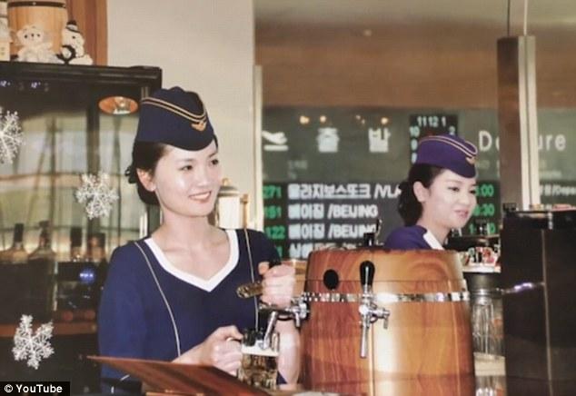 Triều Tiên tung bộ ảnh tiếp viên hàng không xinh như mộng - 3