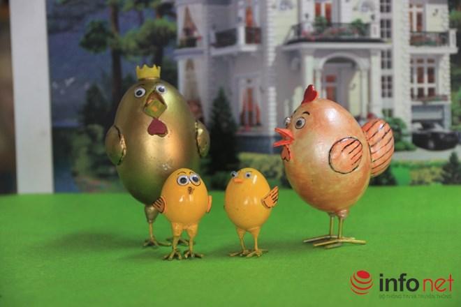 Chiêm ngưỡng đàn gà từ vỏ trứng của nghệ nhân Sài Gòn - 3
