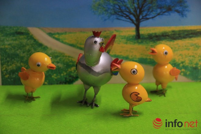 Chiêm ngưỡng đàn gà từ vỏ trứng của nghệ nhân Sài Gòn - 4