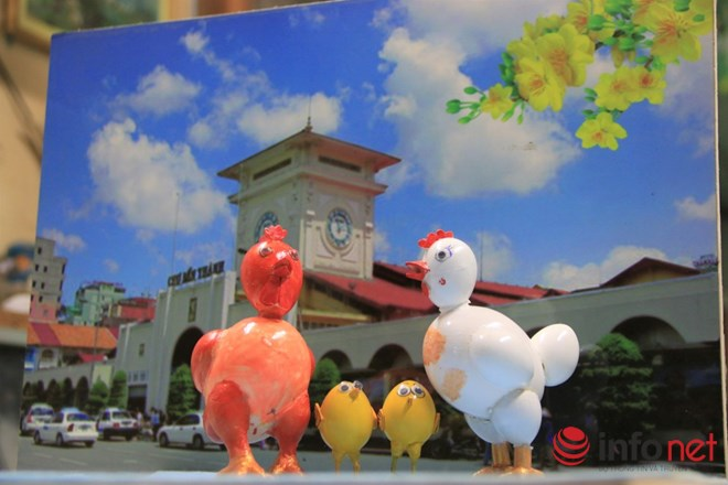Chiêm ngưỡng đàn gà từ vỏ trứng của nghệ nhân Sài Gòn - 6