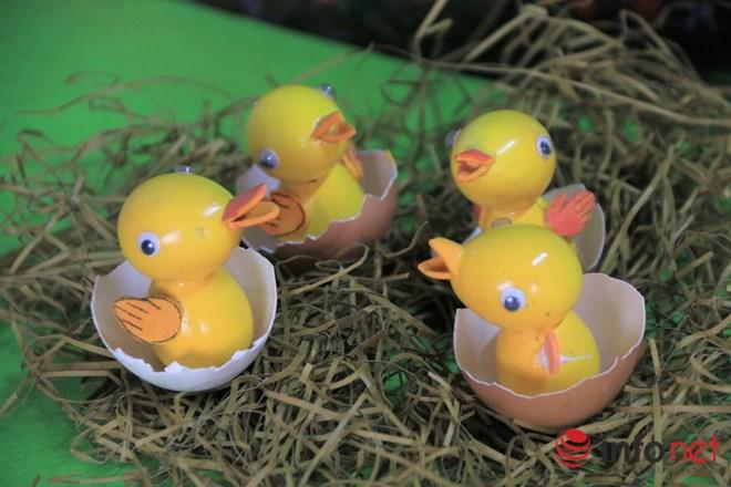 Chiêm ngưỡng đàn gà từ vỏ trứng của nghệ nhân Sài Gòn - 7