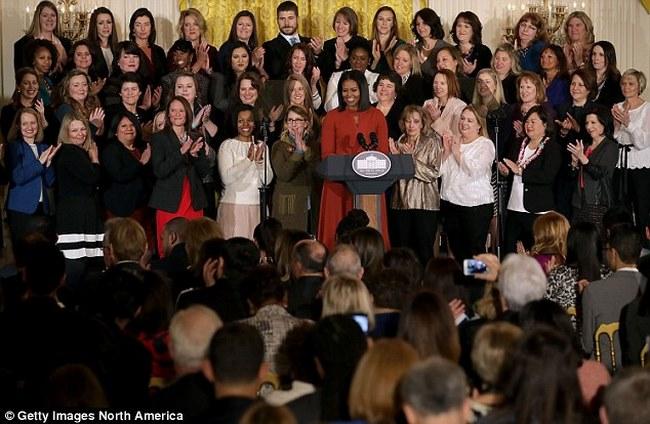 Vợ Obama phát biểu lần cuối cùng trước khi rời Nhà Trắng - 2