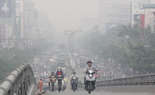 Dân Thủ đô có thể lên mạng xem chất lượng không khí - 1