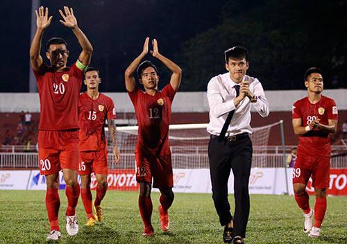 Lần đầu đá V-League, CLB của chủ tịch Công Vinh phấn khích - 1