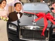 Thời trang - Cận cảnh siêu xe 20 tỷ chồng đại gia tặng HH Thu Ngân