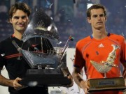 Thể thao - Tennis 24/7: Murray, Federer tranh hùng ở Dubai