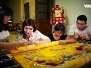 Du lịch - Ngôi làng thêu khăn trầu, áo ngự nức tiếng Hà thành