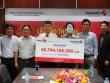 Người trúng xổ số 49 tỉ trong ngày tết Dương lịch đã nhận giải