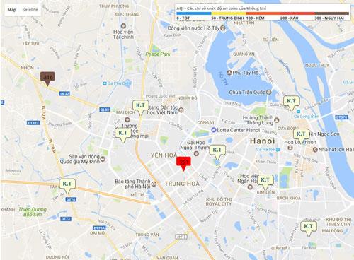Những khu vực nào không khí đang tệ nhất Hà Nội? - 2