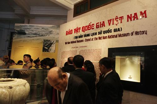Ngắm 16 bảo vật quốc gia lần đầu tiên được trưng bày - 1