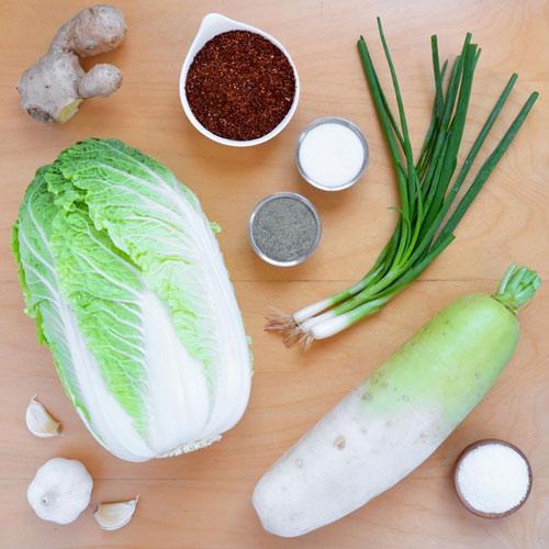 Cách làm kim chi cải thảo chua cay giải ngán ngày Tết - 1