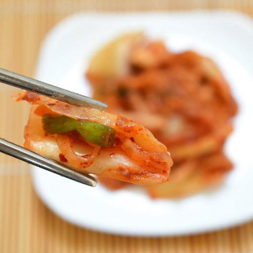 Cách làm kim chi cải thảo chua cay giải ngán ngày Tết - 11