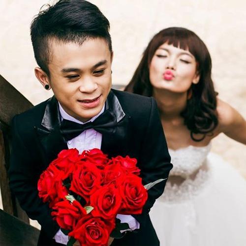 """""""Nấm lùn"""" Xuân Tiến và bạn gái người mẫu chia tay dù đã chụp ảnh cưới - 2"""