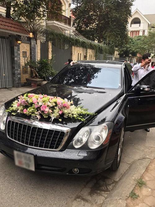 Đám cưới gây xôn xao của hoa - á hậu với toàn siêu xe - 2