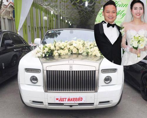 Đám cưới gây xôn xao của hoa - á hậu với toàn siêu xe - 6