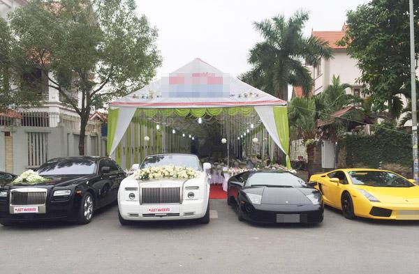 Đám cưới gây xôn xao của hoa - á hậu với toàn siêu xe - 8