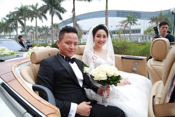 Đám cưới gây xôn xao của hoa - á hậu với toàn siêu xe - 7