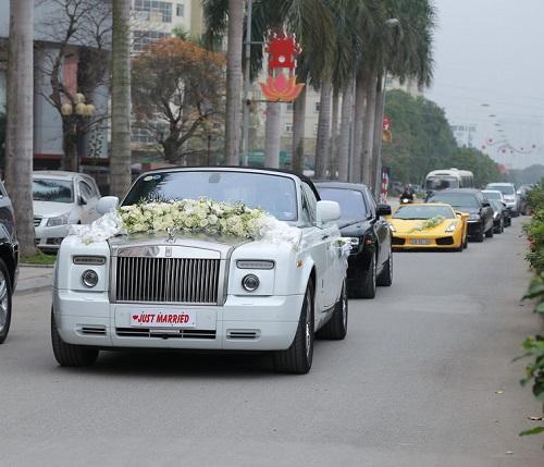 Đám cưới gây xôn xao của hoa - á hậu với toàn siêu xe - 9