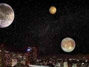 Trái đất từng có cả tá mặt trăng?