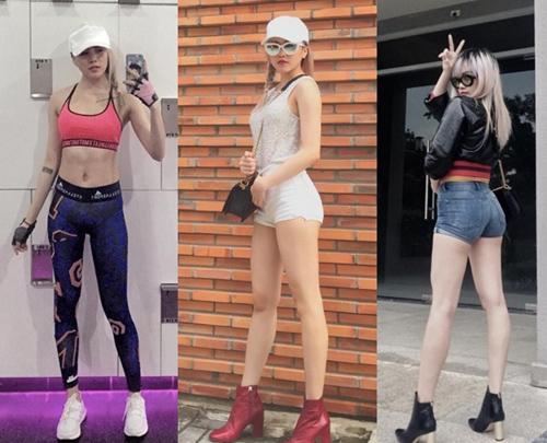 Phát thèm cặp chân dài như kiếm Nhật của bạn gái Sơn Tùng - 1