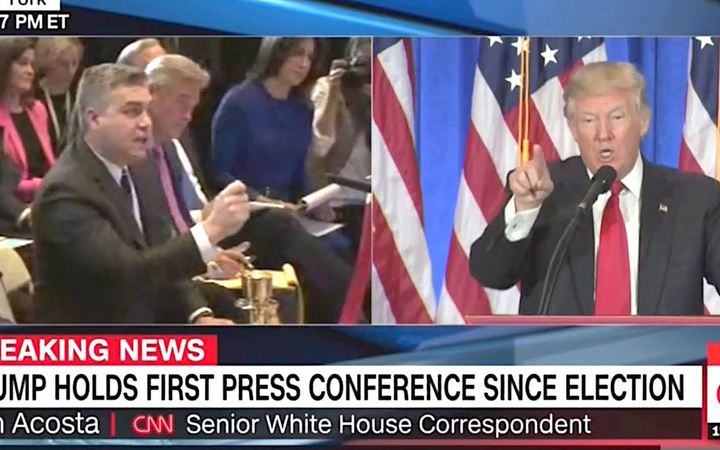 Trump giận dữ, đấu khẩu phóng viên CNN trong họp báo - 2