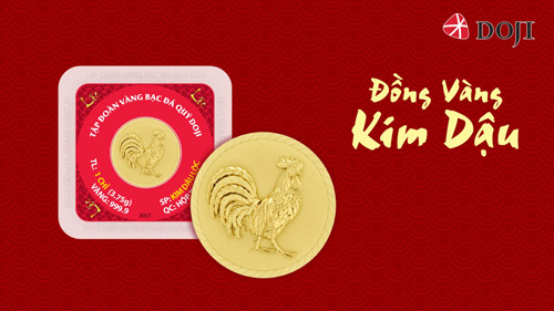Kim Thanh 9999: Đồng Vàng 999.9 Kim Dậu Làm Nóng Thị Trường Quà Tết
