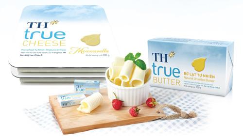 TH ra mắt sản phẩm bơ và phomat đúng chuẩn Châu Âu - 1