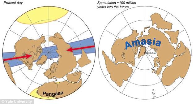 Siêu lục địa mới kéo châu Á nhập vào châu Mỹ - 2