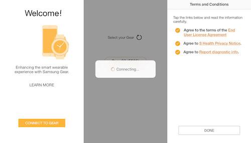 Cách sử dụng smartwatch của Samsung trên hệ điều hành iOS - 1