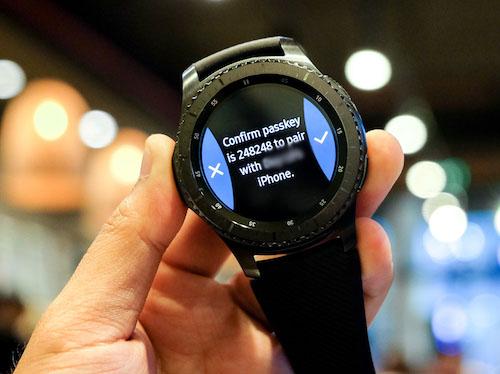 Cách sử dụng smartwatch của Samsung trên hệ điều hành iOS - 2