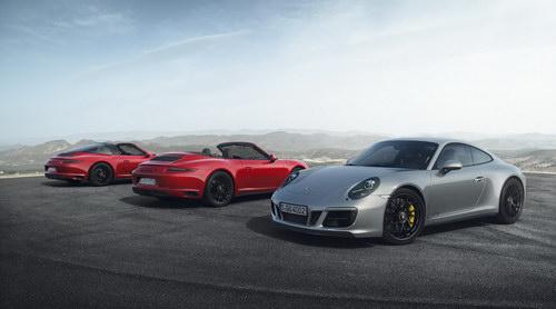 Porsche 911 GTS 2017 cải tiến thêm mạnh mẽ - 1