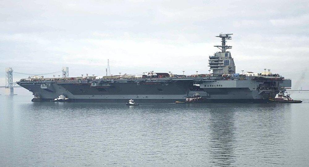 Siêu tàu sân bay đắt nhất lịch sử Mỹ sắp hoàn thành - 1