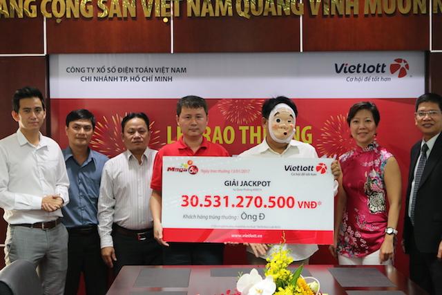Xổ số Vietlott: Người Sài Gòn liên tục trúng jackpot - 1