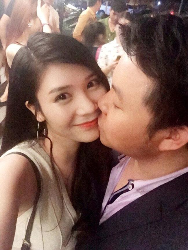 """Lại Thanh (sinh năm 1993)- một trong những diễn viên chính của series hài  """" Kem Xôi TV """"  là người tình nóng bỏng của Quang Lê."""