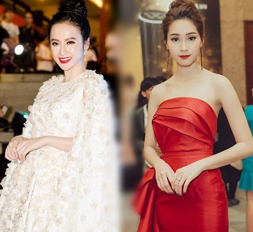 """""""Nữ hoàng thảm đỏ"""" Angela Phương Trinh bị lu mờ trước HH Thu Thảo - 1"""