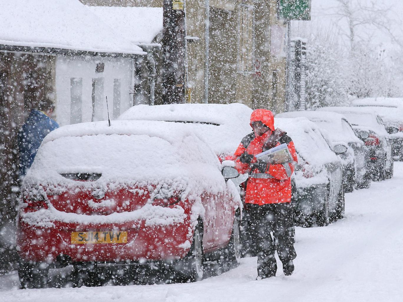 Ảnh: Tuyết buốt giá kì vĩ phủ trắng châu Âu - 4