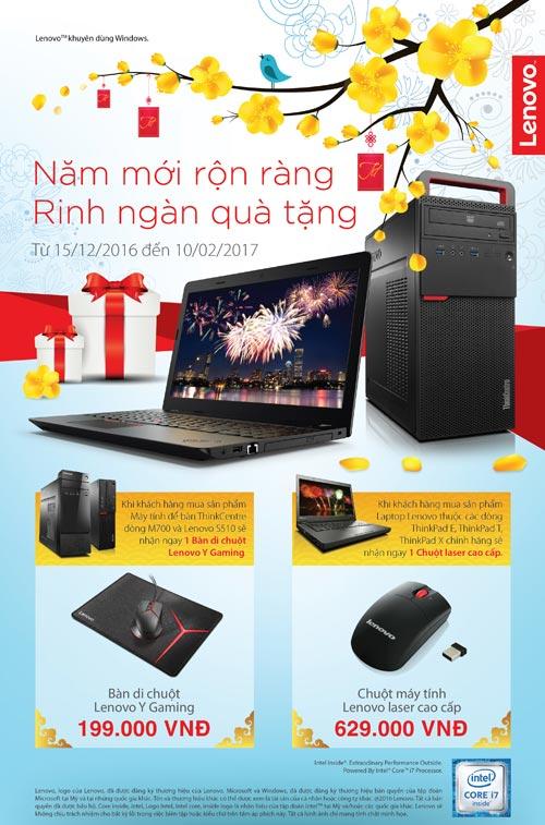 Khuyến mãi tưng bừng khi mua máy tính Lenovo dịp năm mới - 4
