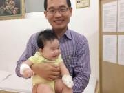 Bế con từ Campuchia sang Việt Nam mổ dị tật vòng nhẫn bẩm sinh